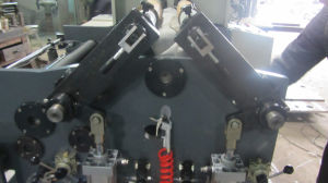 Pmfq-900 Centre Surface Reel Coil Plastic Film Slitting Rewinding Machine pictures & photos