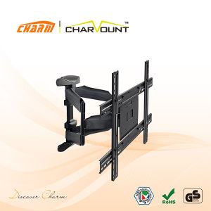 Double Arm Universal TV Mount with Good Cable Management (CT-LCD-L02AV) pictures & photos
