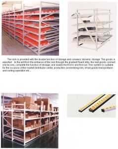 Flow-Through Racking System pictures & photos