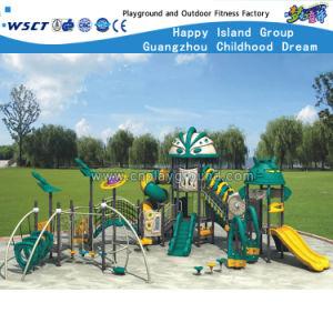 Amusement Park Outdoor Playground Children Plastic Slide HD-Zba401 pictures & photos