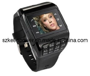 SIM Card Dual Standby Watch Phone Keypad + 1GB Memory Card Watchphone pictures & photos