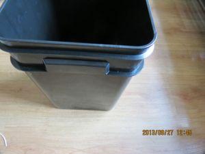 Food Grade Black Plastic Buckets for Hydroponics