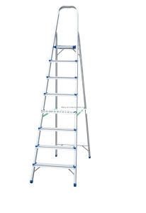 Household Aluminum Ladder (8 Steps) (SM-HLA008) pictures & photos
