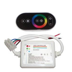 Color Adustable-Wireless RGB LED Remote Controller (Touch Control) pictures & photos