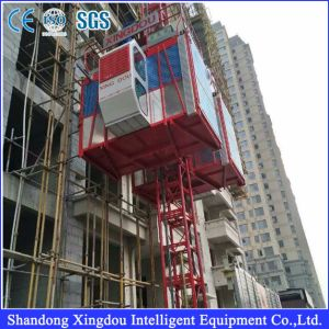 Ce Approved Sc200/200td Construction Hoist / Building Hoist pictures & photos