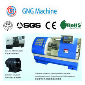 High Quality CNC Metal Lathe pictures & photos