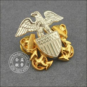 Supply Custom Metal Badge (GZHY-BADGE-011) pictures & photos