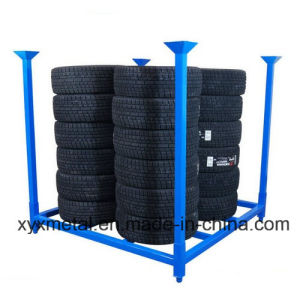Folding 60X60 Inch Metal Tire Tyre Collapsible Stackable Stillage pictures & photos