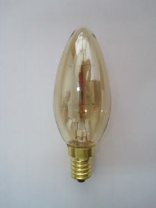 Candle-Shape Carbon Filament Lamp