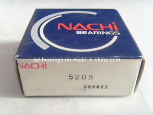NACHI 5205 Angular Contact Ball Bearings 5202, 5203, 5204, 5206, 5207, 5208, 5209 pictures & photos