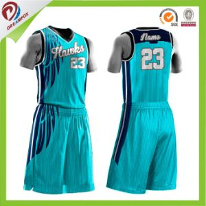 OEM Service Free Design Custom Team Basketball Jerseys Wholesales pictures & photos