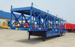 China Brand Long Car Carrier Trailer pictures & photos