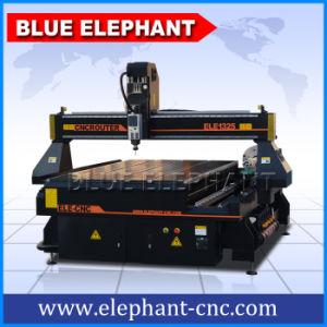 Ele-1325 4 Axis 4X8 CNC Wood Router with Rotary Device for Round Materials pictures & photos