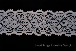 New Style Cotton Crochet Lace for Garment pictures & photos