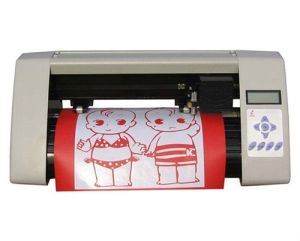 Small Desktop Vinyl Cutter Plotter (RS360C) for Small Business and Office Work