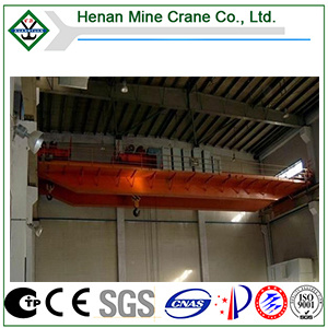 Qe Model Double Hoist Cart Double Hook Bridge Overhead Crane pictures & photos