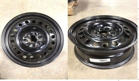 Steel Wheel 17X7 for Passenger Cars pictures & photos