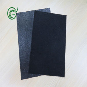 Pb2814 PP Fleeced Backing for Carpet with Black
