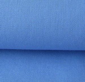 Cotton Plain Patient Clothing Fabric with Anti Chlorine Wash pictures & photos
