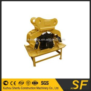 Hydraulic Vibrating Plate Compactor for Komatsu200 Excavator Made in China pictures & photos