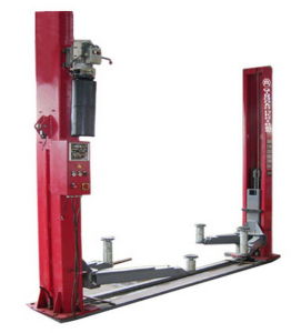 Automatic Two Post Car Lift with Electrical Release pictures & photos