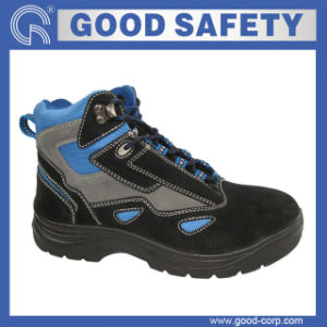 Suede Leather Safety Boots (GSI-1010)