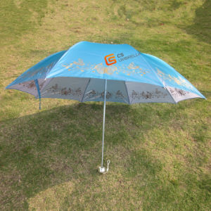 22*8k, Windproof Folding Umbrella with Changeable Cloth (YSF4007B)