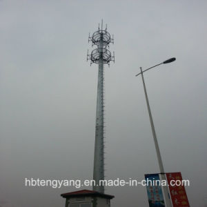 Cell Phone Signal Single-Tube Communication Monopole Tower pictures & photos