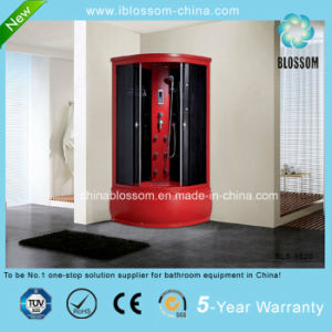 Red Color Grey Glass Massage Steam Complete Shower Room (BLS-9820) pictures & photos