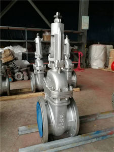 ANSI Cl150, Double Flanged Gate Valve pictures & photos