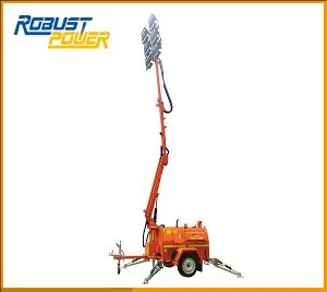 SAA Approved 4X720W Diesel Engine Powered Light Towers pictures & photos
