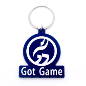 Promotion Soft PVC Keychain with Customized Design pictures & photos