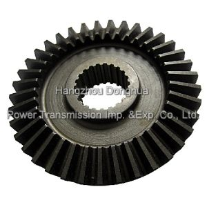 ISO 9001 Bevel Gears, Straight Teeth Bevel Gear with Spline pictures & photos