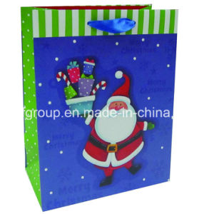 Handmade High Quality Christmas Paper Bags pictures & photos