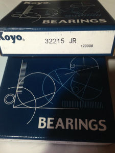 Hot Sell Koyo Chrome Steel 32215 Taper Roller Bearing