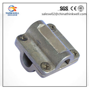 Forged Heavy Cross Square Clamp for Cable Connection pictures & photos