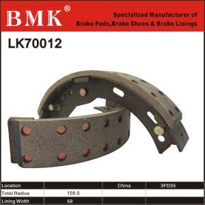 Non-Asbestos, Premium Forklift Brake Shoes (Lk70012) pictures & photos