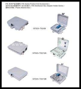Plastic FTTH Terminal Box- Fiber Optic Distribution Box-FTTX Box pictures & photos