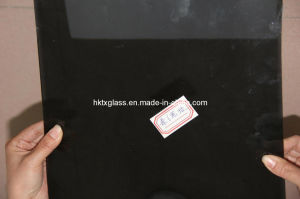 Tempered Tinted Black Glass with AS/NZS2208: 1996, BS6206, En12150 Certificate pictures & photos