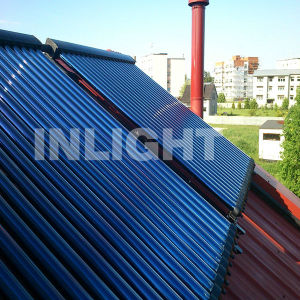 Vacuum Tube Heat Pipe Solar Collector Keymark pictures & photos