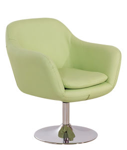 Arm Chair Fiberglass Tulip Chair/ Fashion Fabric Chair/ Modern Dining Chair for Living Room pictures & photos