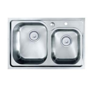 Oppein Handmade Undermount Kitchen Sink (OP-PS321A-TC) pictures & photos