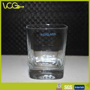 Square Glass Tumbler for Premium Spirits Promotion (TW025)