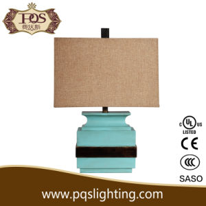 Square Shape Modern Hand Painted Lamps (P0030TB)