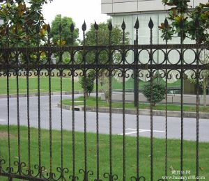Garden Fencing Security Wrought Iron Fence pictures & photos