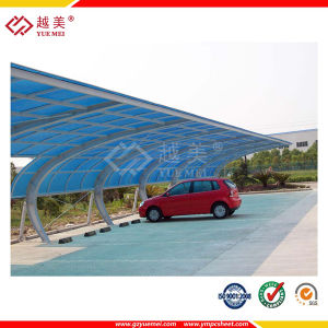 ISO9001: 2008 Proved Waterproof Polycarbonate Roofing Sheet Polycarbonate Hollow Sheet (YM-HL-0006) pictures & photos
