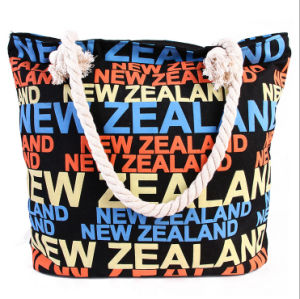 The New High-Quality Canvas Bag Hand-Held Large Bag Trend of Female Bag Variety of Beach Bags pictures & photos