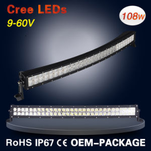 180W CREE Double Row Curved LED Light Bar for Jeep pictures & photos