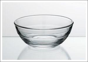 Clear Glass Salsa Bowl