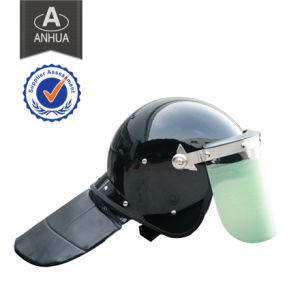 High Quality Police ABS Anti-Riot Helmet with PC Visor pictures & photos